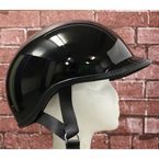 Polo EXGB Gloss Black Half Helmet - EXGB-XL