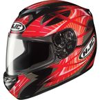 Black/Red Storm CS-R 2 Helmet - 214-914