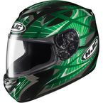 Black/Green Storm CS-R 2 Helmet - 214-942