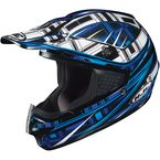 Black/Blue/White CS-MX Stagger Helmet - 312-926