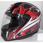 Spear Red Primo Air Helmet - 88-30174