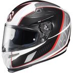 White/Black/Red Cage MC 1 RPHA-10 Helmet - 1574-915