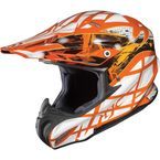 Orange/Orange/Silver Tempest RPHA-X  MC-7 Helmet - 1566-974