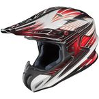 White/Black/Red Factor RPHA-X MC-1 Helmet - 1564-916