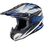 White/Black/Blue Factor RPHA-X MC-2 Helmet - 1564-926