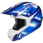 White/Blue/Black Spectrum CL-X6 MC-2 Helmet - 734-927