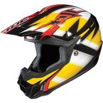 Black/Yellow/White Spectrum CL-X6 MC-3Helmet - 734-936