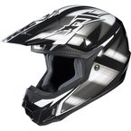 Black/Silver/White Spectrum CL-X6 MC-5 Helmet - 734-956