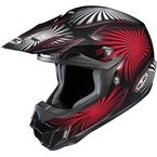 Black/Red/White Whirl CL-X6 MC-1 Helmet - 736-912
