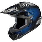 Black/Blue/White Whirl CL-X6 MC-2  Helmet - 736-927