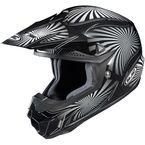 Black/Gray/White Whirl CL-X6 MC-5 Helmet - 736-956