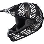 Black/Silver/Silver Link CS-MX MC-5 Helmet - 314-955