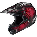 Youth Black/Red/White Whirl CL-XY Helmet - 276-912