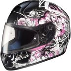 Black/Pink/White Virgo CL-16 Helmet - 920-986