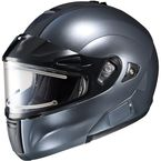 Anthracite IS-MAX BTSN Helmet w/Electric Shield - 059-563