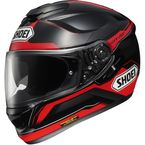 Black/Red GT-Air Journey TC-1 Full Face Helmet - 0118-1001-04