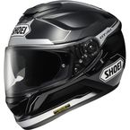 Black/Silver GT-Air Journey TC-5 Full Face Helmet - 0118-1005-06