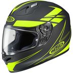 Black/Hi-Vis Force FG-17 Helmet - 632-835