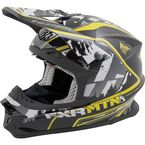 Black/Yellow/White RRS Edition Blade Super Lite Helmet
