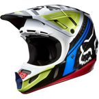 Black/Red V4 Intake Helmet - 07114-017-2X