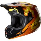 Orange V2 Anthem Helmet - 07126-009-L