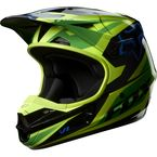 Green V1 Race Helmet - 07129-004-2X