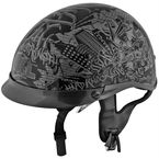 Black/Gray Hard Knock Life SS400 Helmet - 87-7125