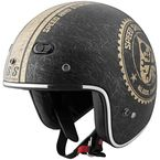 Black/Gold Speed Shop SS600 Helmet - 87-7425