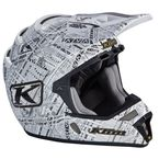 Stealth White F4 ECE Certified Helmet (Non-Current) - 5106-001-130-003