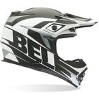 Black/White/Gray MX-2 Element Helmet - 7028374