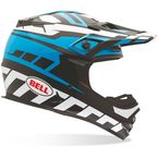 Black/White/Blue MX-2 Quantum Helmet - 7028398