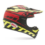 Black/Red/Yellow MX-2 Quantum Helmet - 7028409