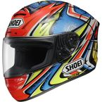 Red X-Twelve Daijiro Memorial TC-1 Helmet - 0112-2301-06