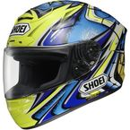 Green X-Twelve Daijiro Memorial TC-3 Helmet - 0112-2303-06