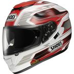 White/Red GT-Air Inertia TC-1 Helmet - 0118-1201-06