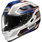 White/Blue GT-Air Inertia TC-2 Helmet - 0118-1202-06