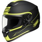 Black/Hi-Viz Yellow TC-3 Qwest Passage Helmet - 0115-0903-07
