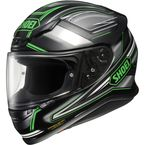 Black/Green RF-1200 Dominance TC-4 Helmet - 0109-1004-06