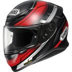 Black/Red RF-1200 Mystify TC-1 Helmet - 0109-1101-08