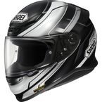 Black/Silver/White RF-1200 Mystify TC-5 Helmet - 0109-1105-08