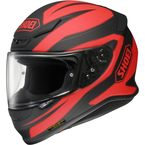 Black/Red RF-1200 Beacon TC-1 Helmet - 0109-1301-06