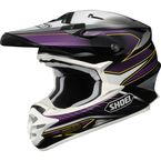 Black/Purple/White VFX-W Sear TC-11 Helmet - 0145-8311-03