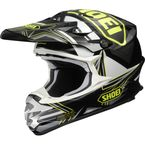 Black/Hi-Viz Yellow VFX-W Reputation TC-3 Helmet - 0145-8203-07