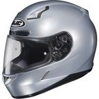 Metallic Silver CL-17 Helmet - 57-8934