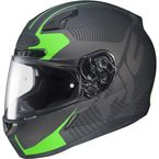 Black/Charcoal/Green MC-4F CL-17 Mission Helmet - 832-847