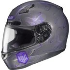 Charcoal/Purple MC-11 CL-17 Mystic Helmet - 830-993