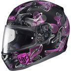 Black/Pink MC-8 CL-17 Mystic Helmet - 830-983