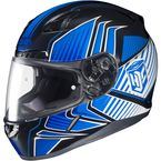 Blue/Black/White MC-2 CL-17 Redline Helmet - 828-923