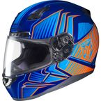Blue/Orange MC-26 CL-17 Redline Helmet - 828-966