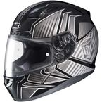 Black/Charcoal/Silver MC-5 CL-17 Redline Helmet - 828-952